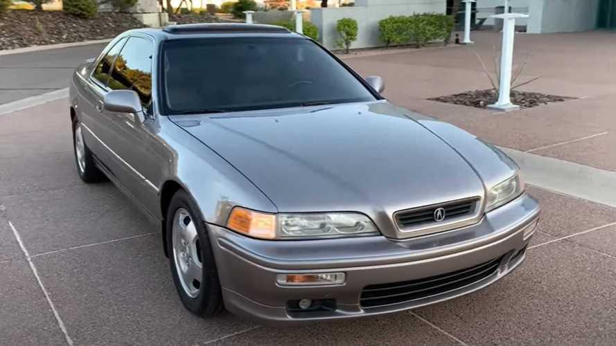 This 572,750-Mile Acura Legend Still Has The Original Clutch