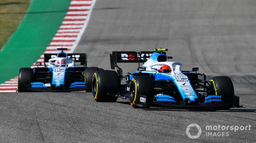Robert Kubica leads George Russell at US GP 2019