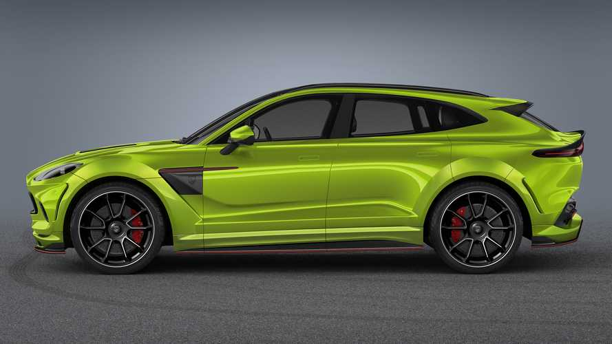 Aston Martin DBX gets carbon fibre dose by Lumma Design