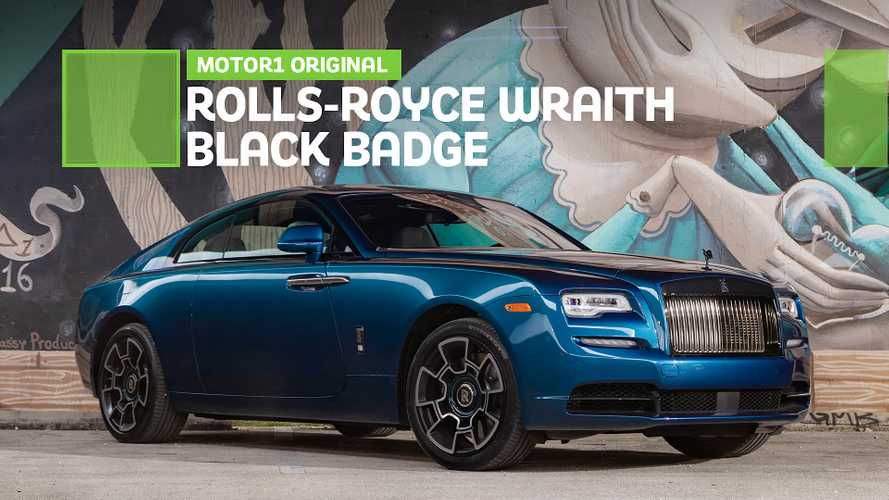 The Rolls-Royce Wraith Black Badge Is Peak Miami