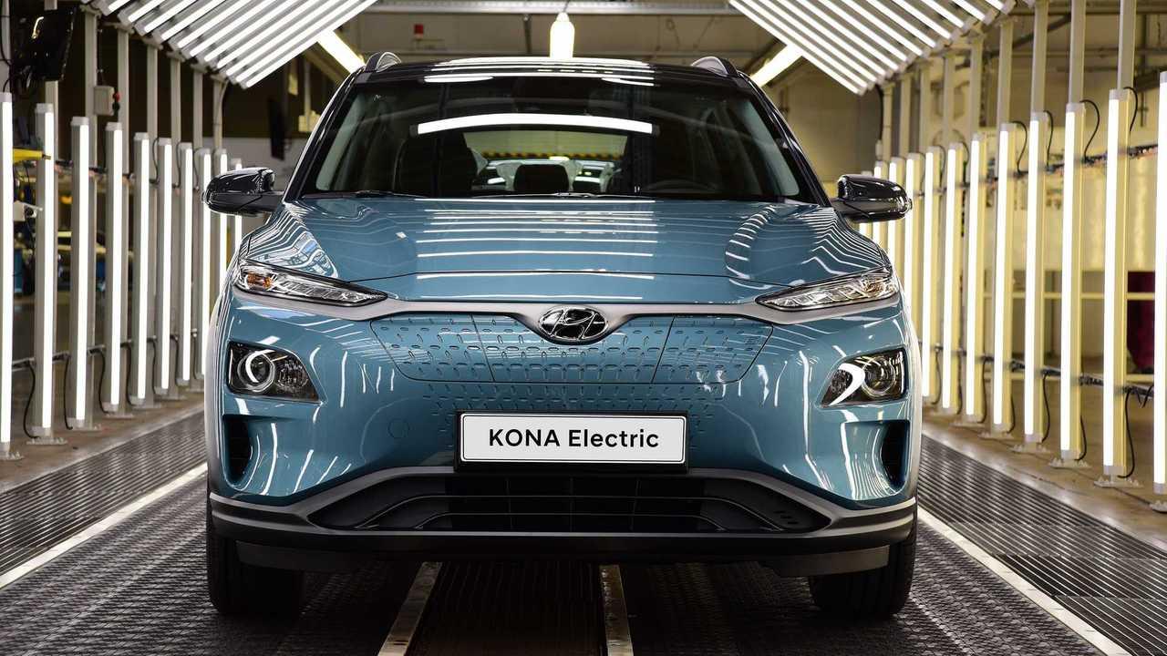 Hyundai Kona Electric production