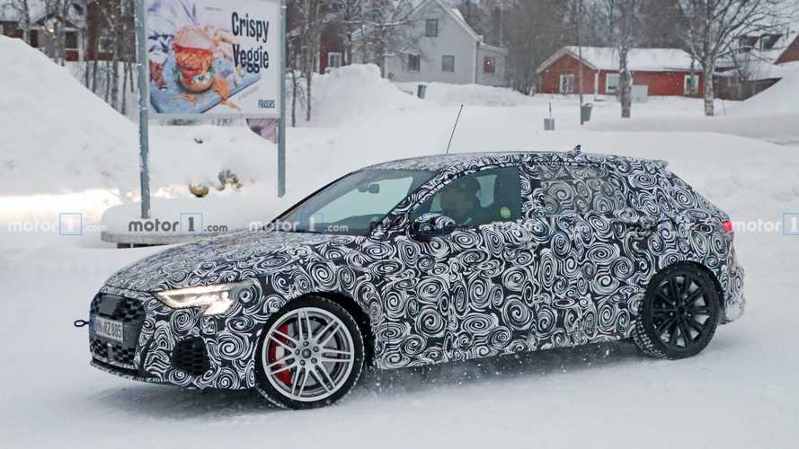 Nouvelle apparition de l'Audi RS 3 Sportback