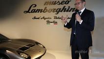 CEO Stefano Domenicali, Sant'Agata Bolognese'daki Lamborghini Müzesi'nde