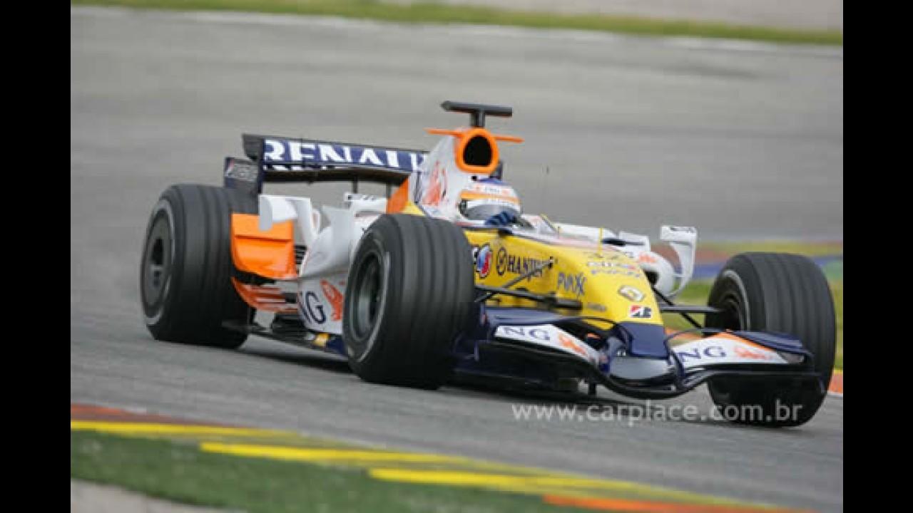 Fórmula 1 - Renault confirma Alonso e Nelsinho Piquet como pilotos de 2008