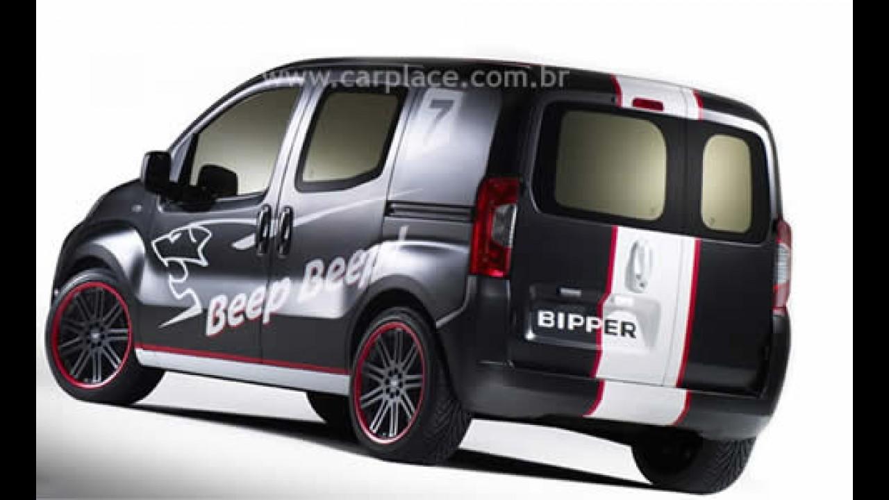 "Salão de Bolonha 2007 - Peugeot mostra conceito Bipper ""Beep-Beep"""