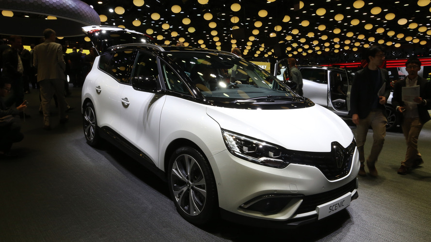 Le Renault Scenic Edition One se montre au Mondial de Paris