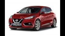 Yeni nesil Nissan Micra'nın dijital çizimleri yayınlandı