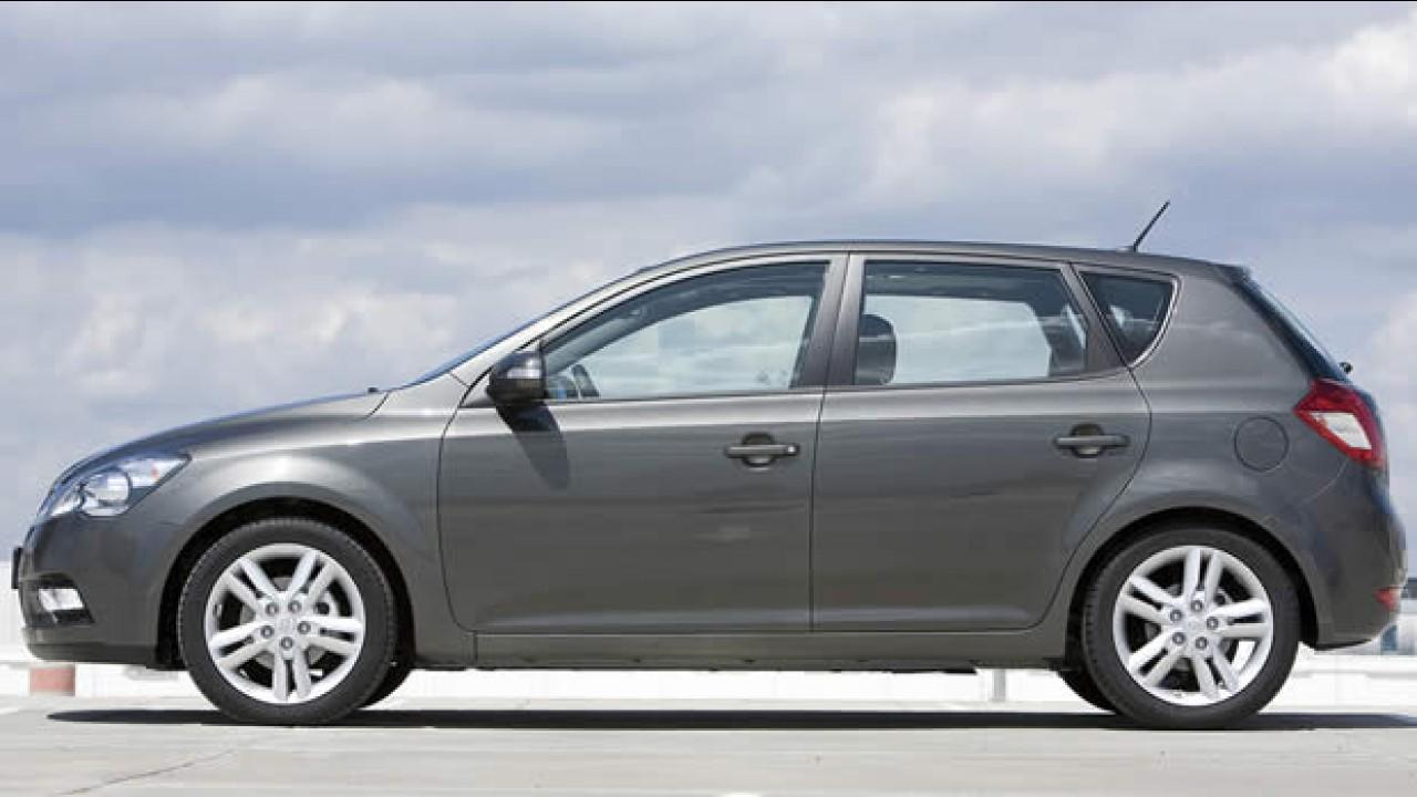 Kia divulga fotos oficiais do Novo Ceed 2010 - Modelo será apresentado em Frankfurt