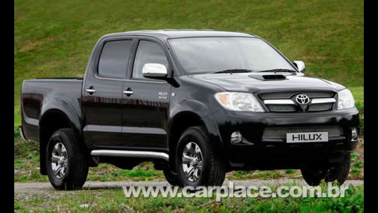 Toyota apresenta a Hilux 2009 - Nova versão a gasolina custa R$ 79.600