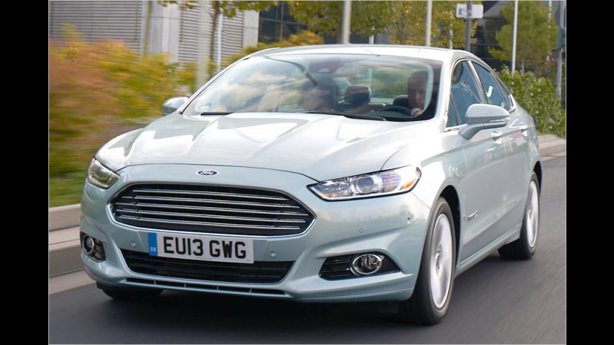 Ford Mondeo Hybrid und C-Max Plug-in-Hybrid kommen 2014
