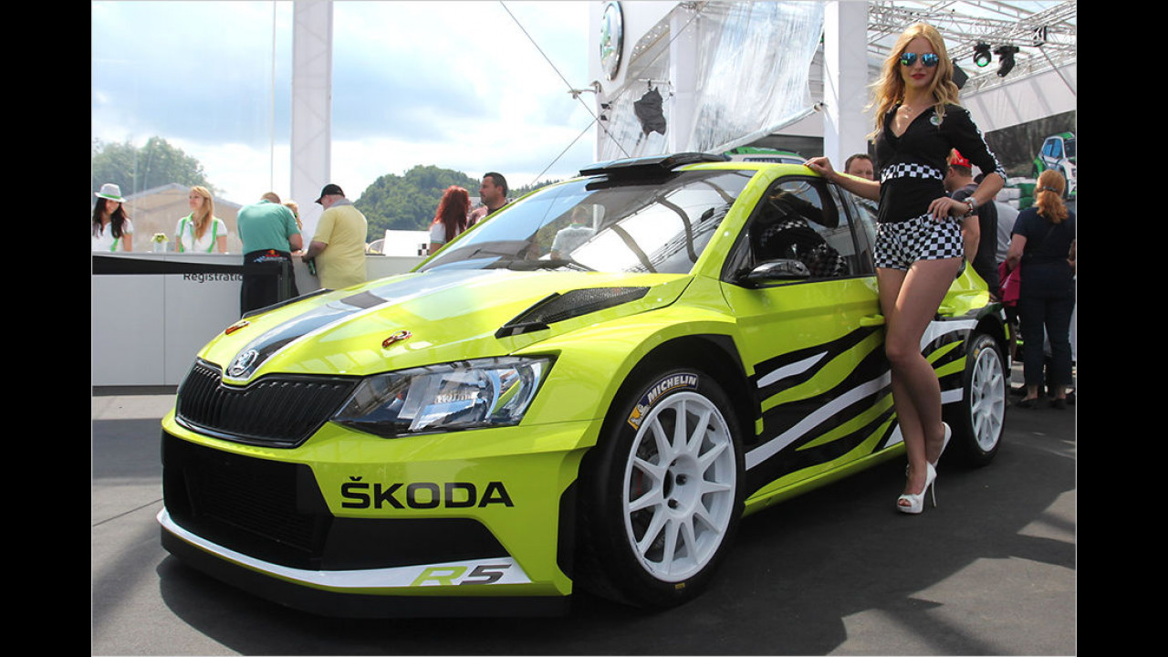 Skoda Fabia R5 Combi