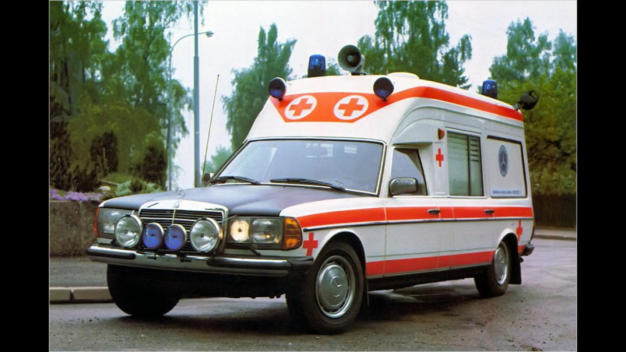 Mercedes W 123 Ambulanz