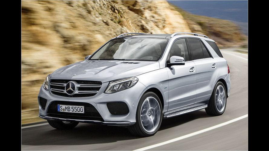 Mercedes liftet die M-Klasse zum GLE