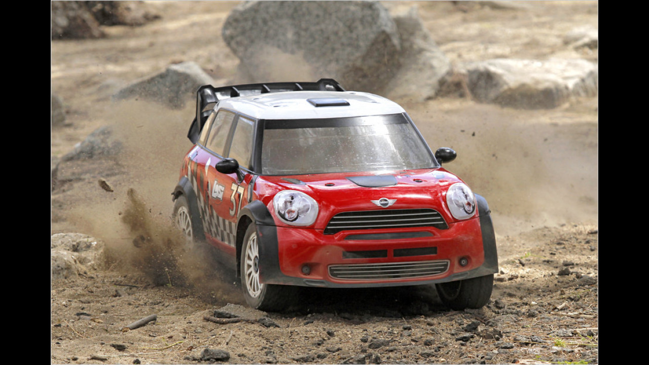 Losi 1:5 MINI Countryman WRC RTR
