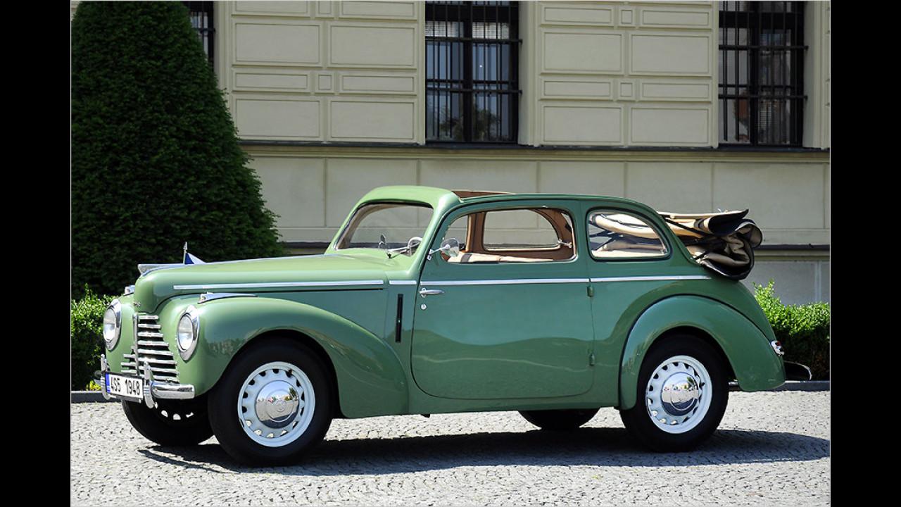 1948: Skoda Tudor Roadster