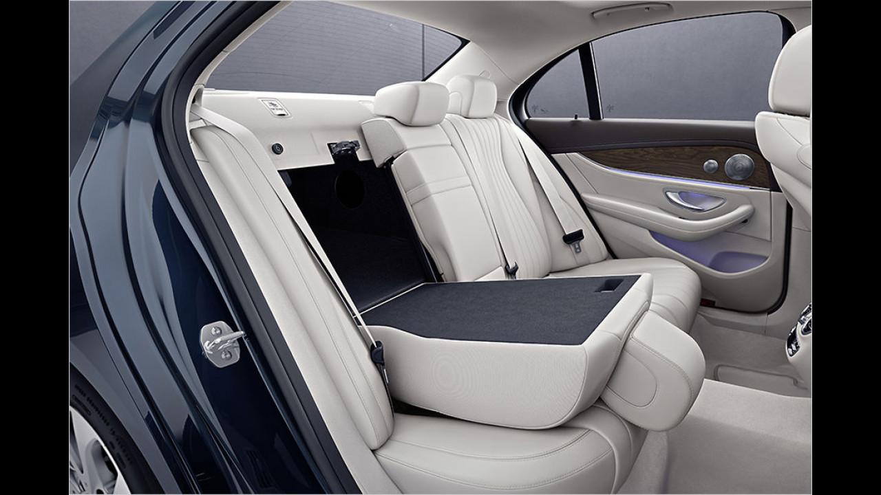 Kofferraum: Umklappbare Rücksitze