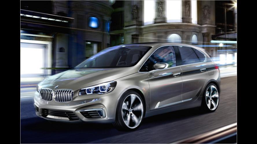 BMW Concept Active Tourer mit Frontantrieb