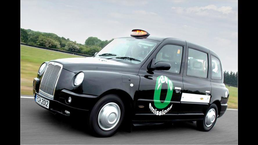 "Das ""Black Cab"" wird grün"
