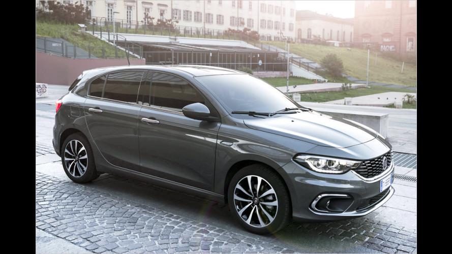 Fiat Tipo Fünftürer ab 14.990 Euro zu haben
