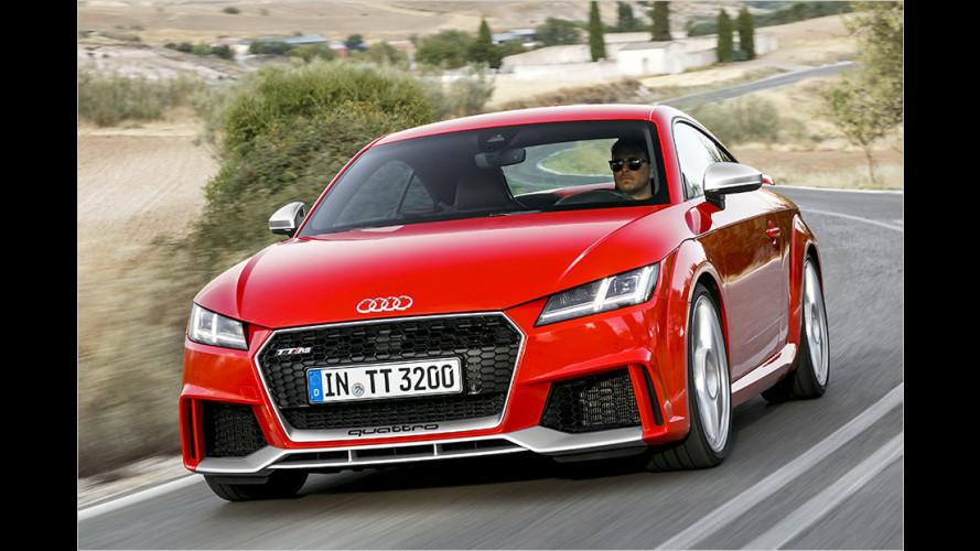 Im Test: Neuer Audi TT RS (2016) mit 400 PS