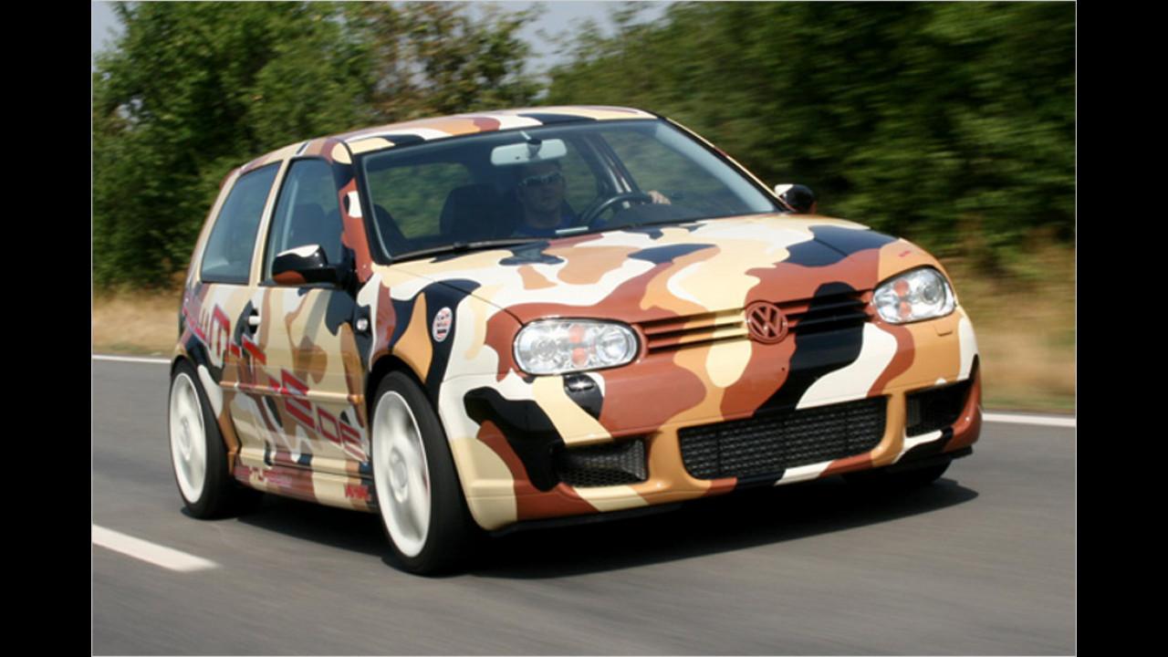 MTE VW Golf R32: über 310 km/h