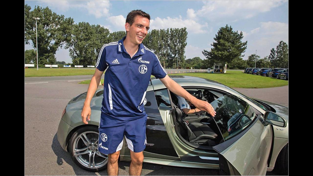 Christoph Moritz: Audi R8
