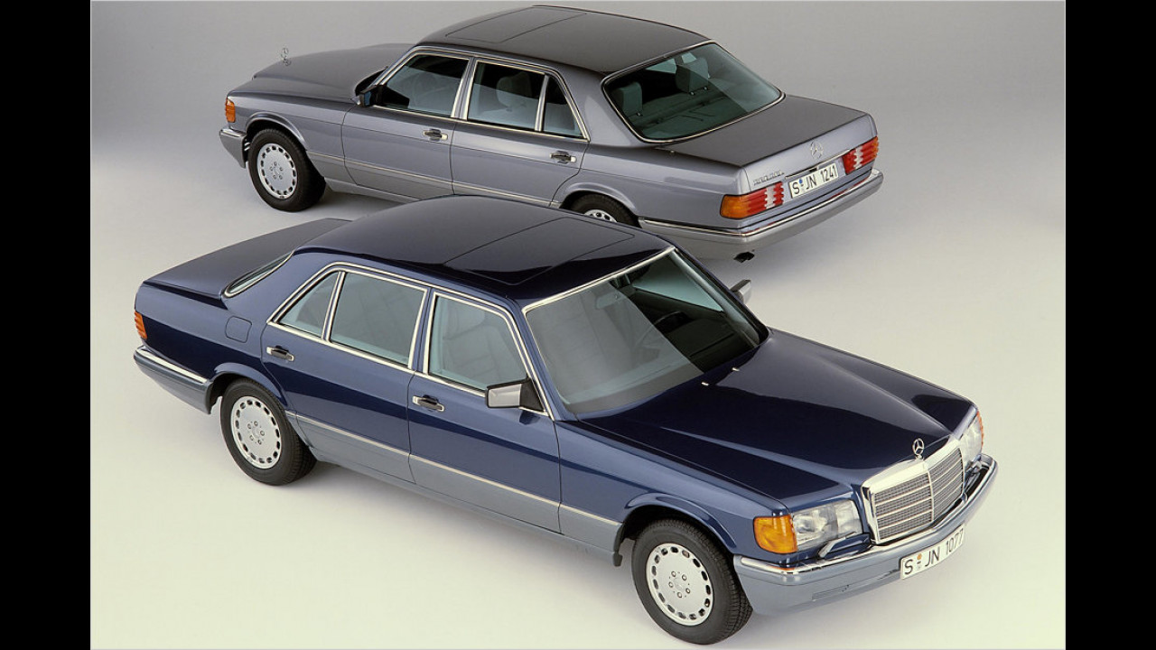 Mercedes W 126 (1985)