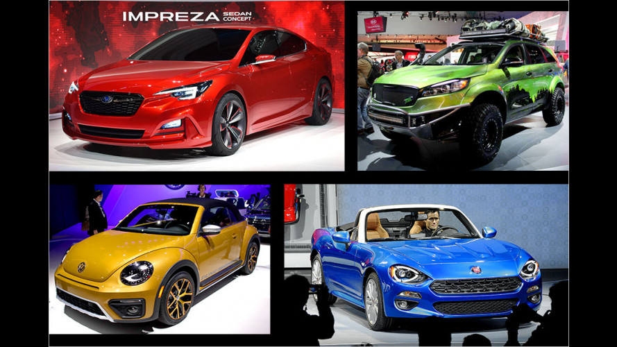 LA Auto Show 2015: Die Highlights