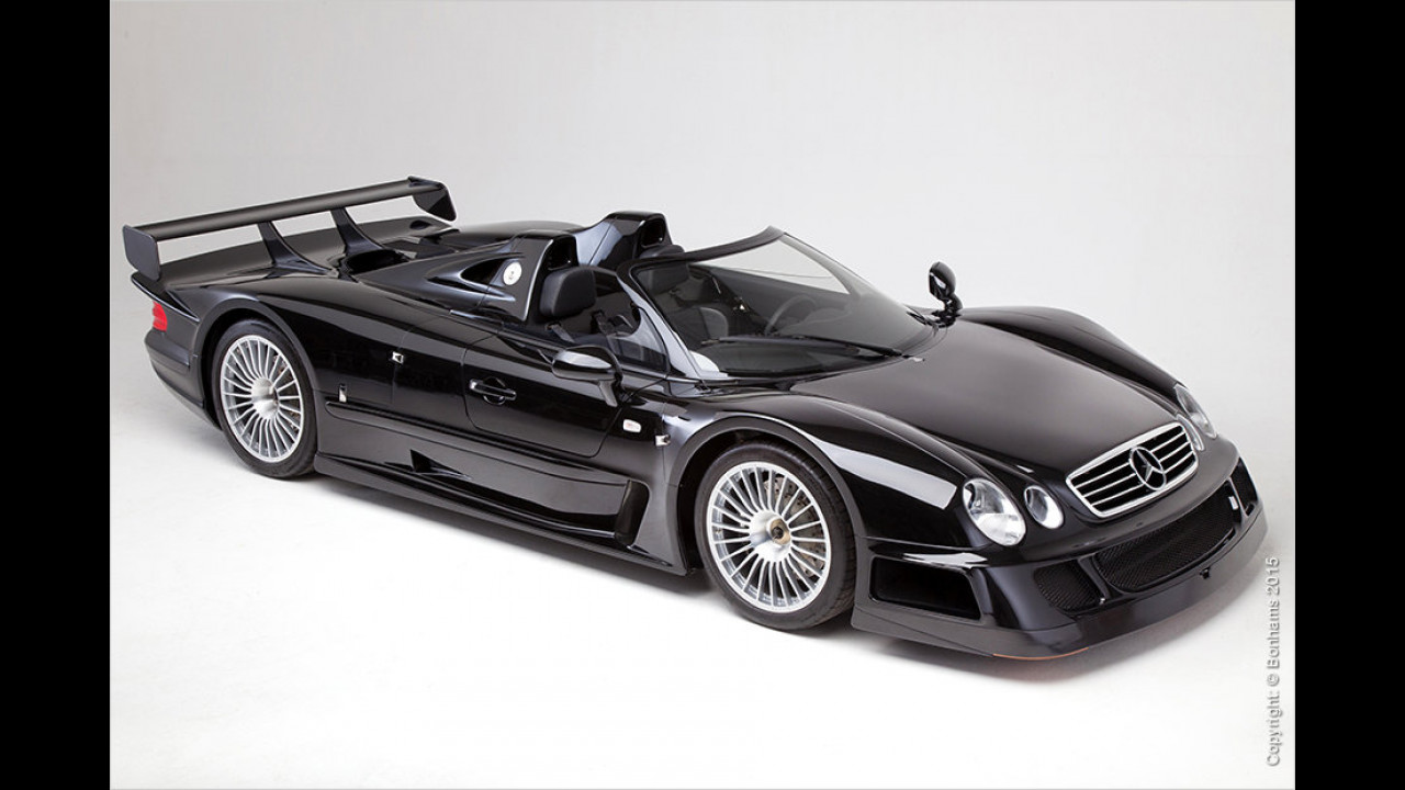 Mercedes CLK GTR Roadster 1998