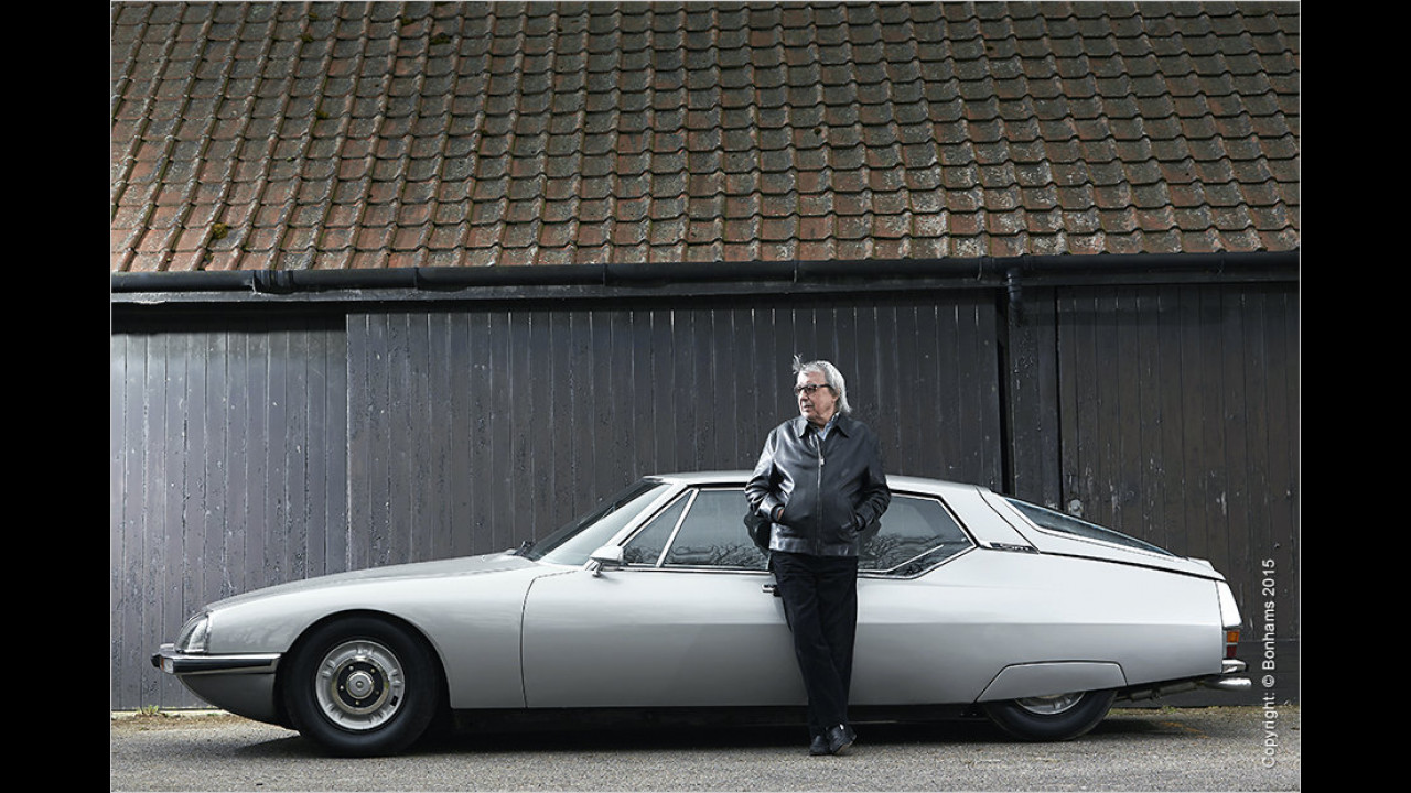 Citroën SM ,Bill Wyman