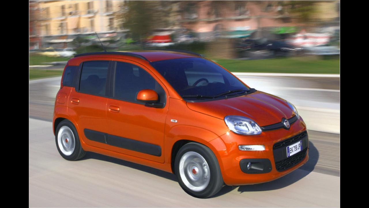 Fiat Panda: über 6 Millionen (seit 1980)