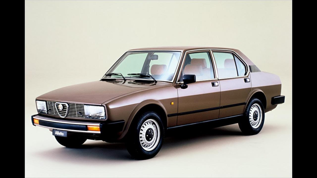 Alfetta 2.0, 1982 bis 1983