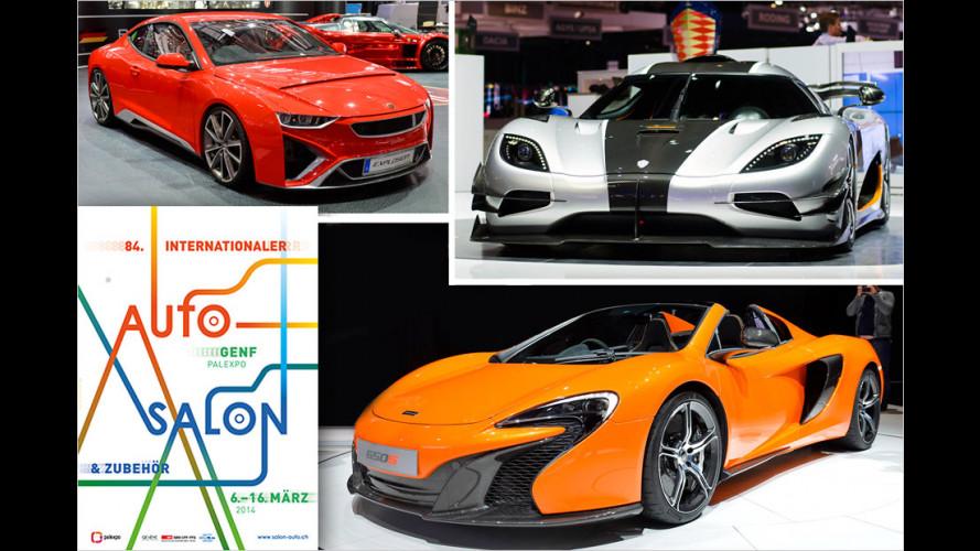 Genfer Autosalon 2014: Die Sportwagen