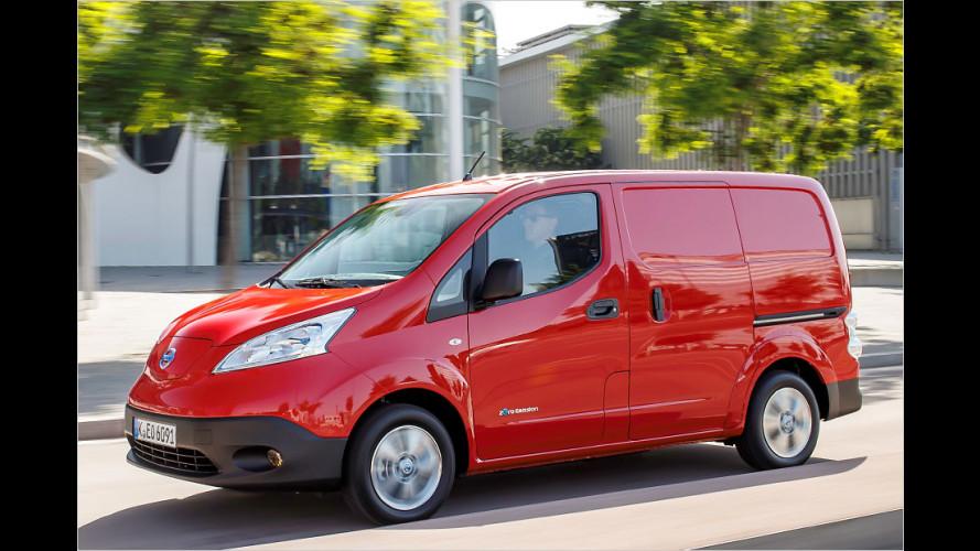 Elektro-Kleintransporter Nissan e-NV200 (2014) im Test