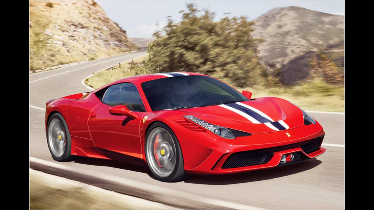 Ferrari 458 Speciale: 605 PS