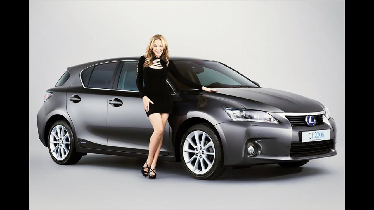 Kylie Minogue: Lexus CT 200h