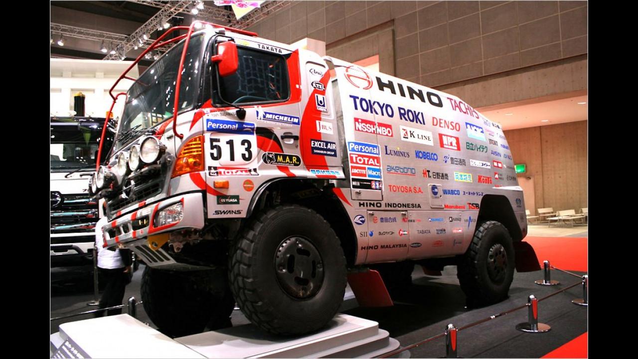 Hino Dakar-Renntruck