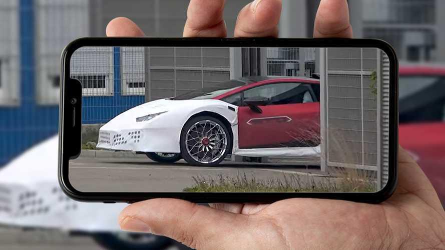 Lamborghini Huracan STO, i primi prototipi su strada. Video