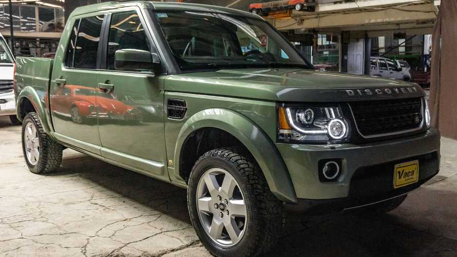 Land Rover Discovery pickup conversion is real and we want it bad