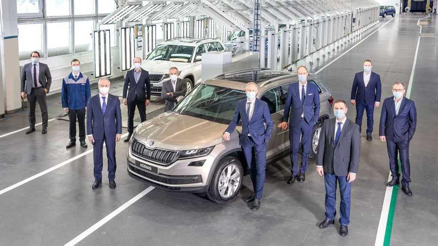 В Нижнем Новгороде собрали 400-тысячный автомобиль VW Group