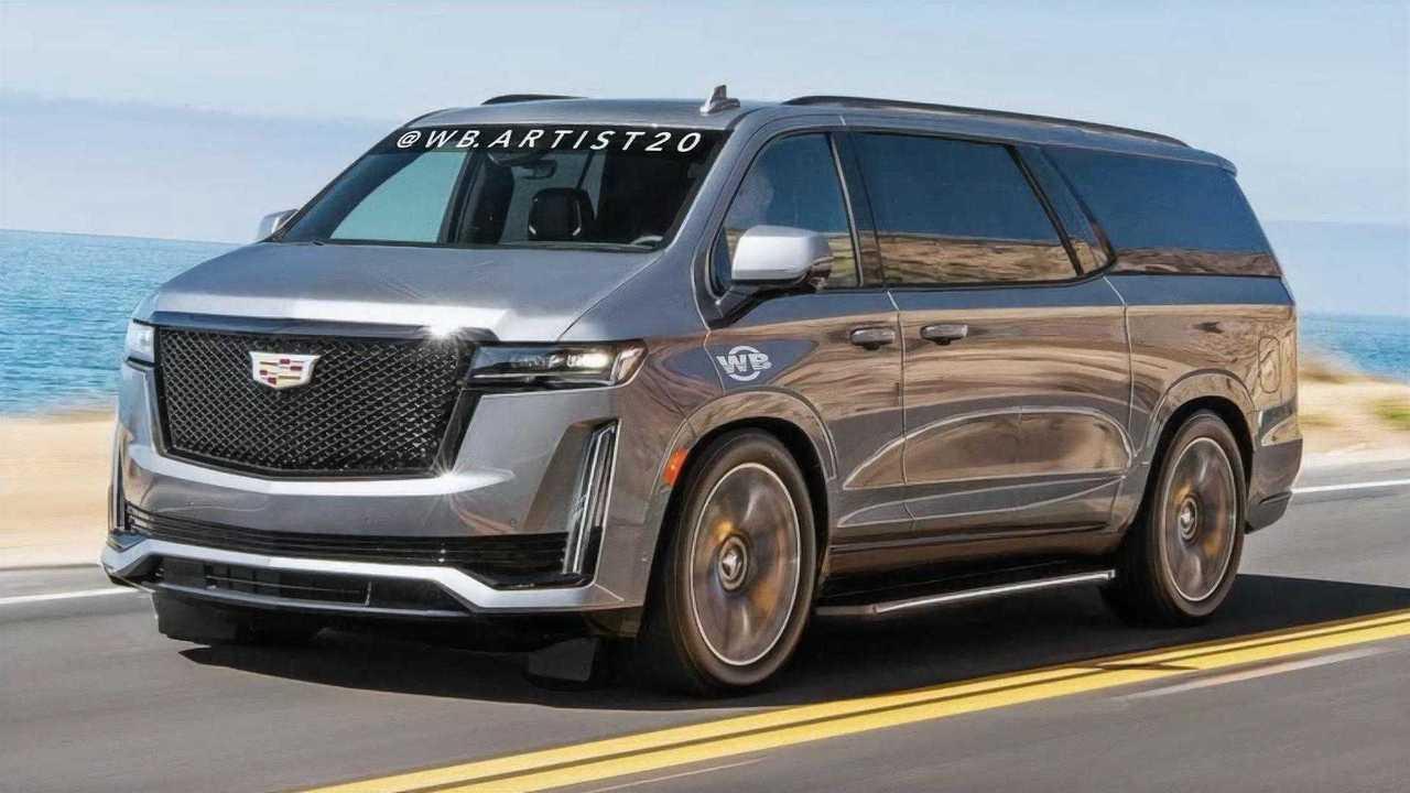 Cadillac Escavan Rendering