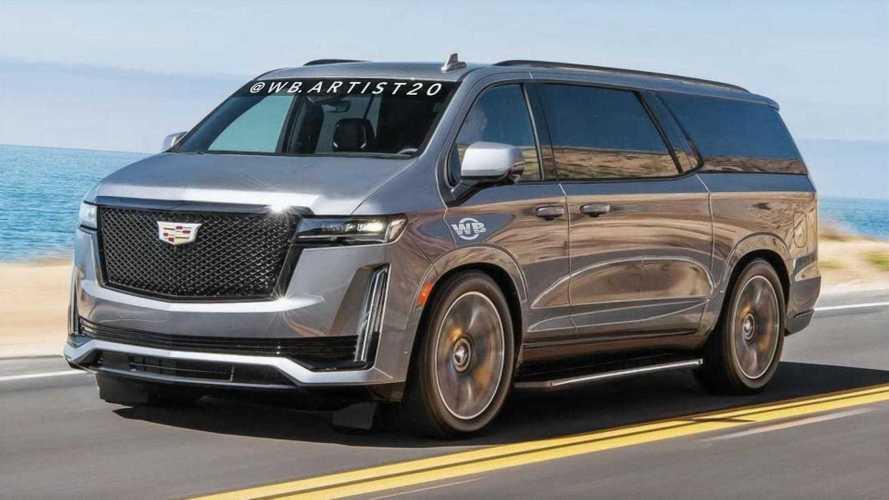 Cadillac Escavan Rendering Imagines An Unofficial Luxury Minivan