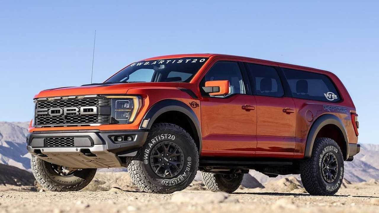 2021 Ford F-150 Raptor SUV Rendering Is Too Good For Production