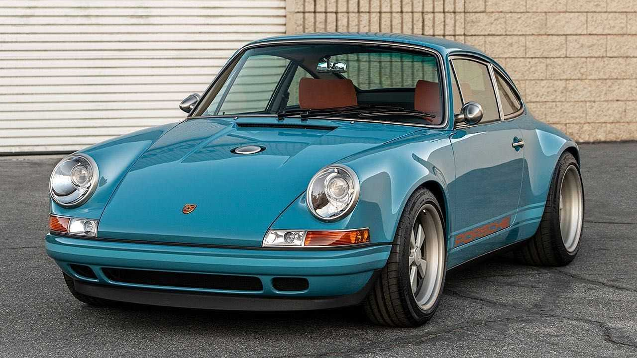 Singer Reimagined Porsche 911 Southampton Commission Front