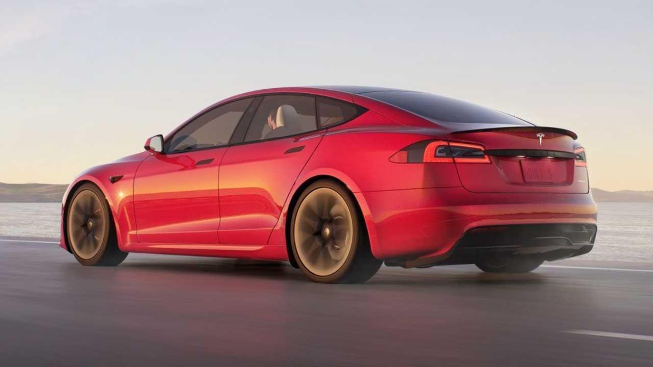 Makyajlı 2021 Tesla Model S