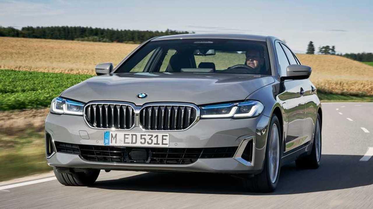 BMW 520e PHEV lead image