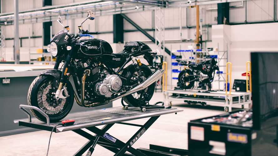 Take a look inside the new Norton Motorcycles facility