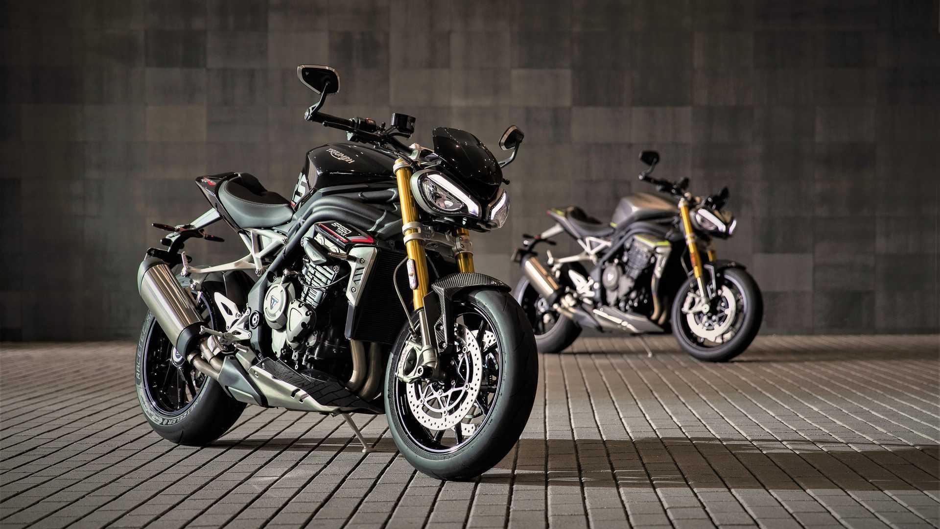 """Triumph Speed Triple 1200 RS, la naked trecilindri più """"tutto"""" di sempre"""