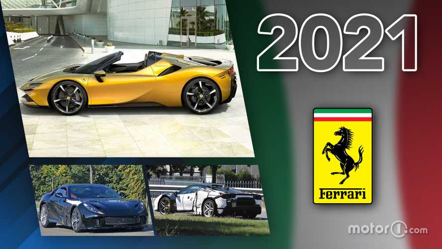 Ferrari - Toutes les nouveautés de 2021