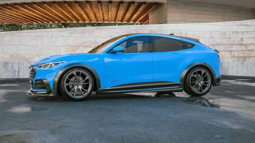 Motion R Design Modifiyeli Mustang Mach-E